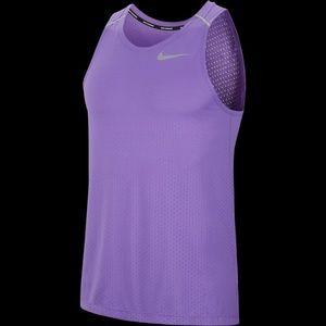 Nike large men's Dri-fit breathe running tank